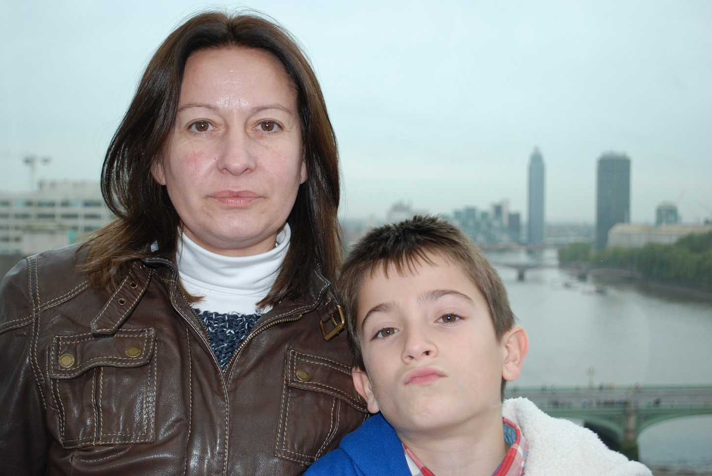 Ander with Mum, September 2013