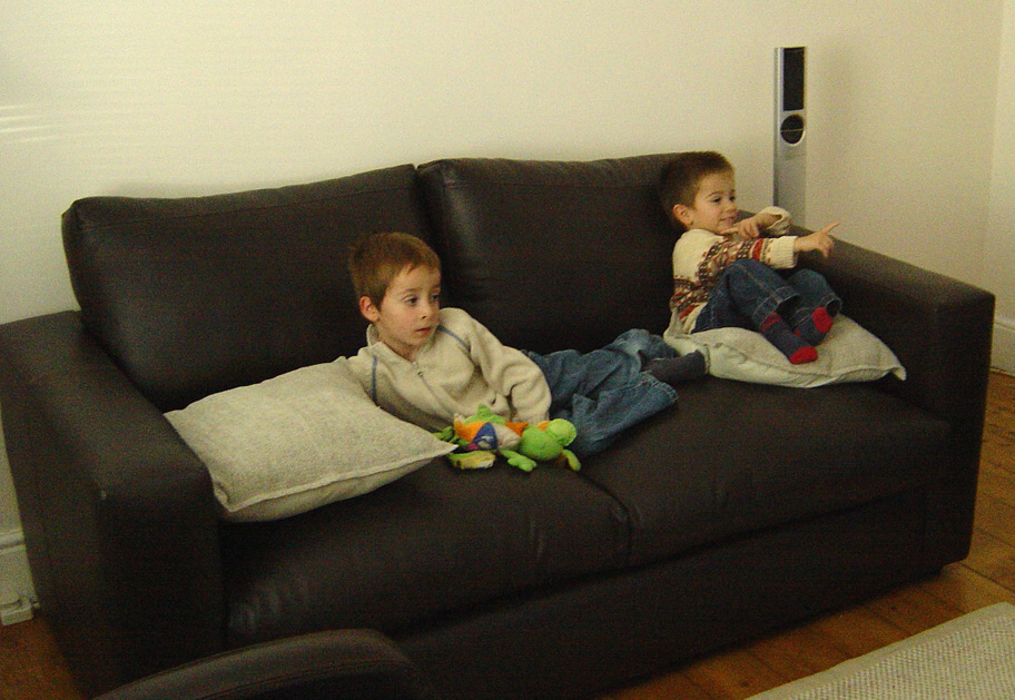 On Sofa - October 2005